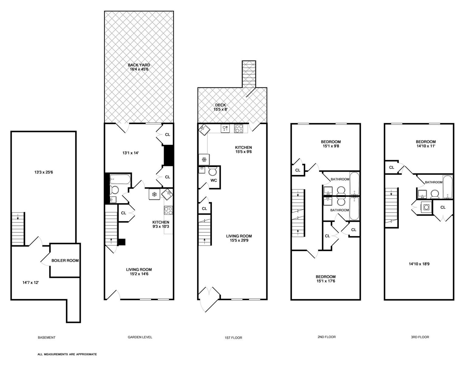 28 Brooklyn Brownstone Floor Plans 100 Brownstone